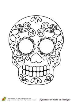 simple sugar skull designs google search sugar skulls