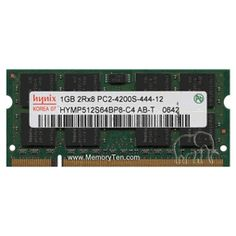 2GB (2x1GB) Dell Notebook Dual Channel SODIMM Memory kit (p/n 311-4665)