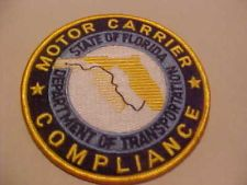 Florida department of agriculture consumer services for Motor carrier compliance florida