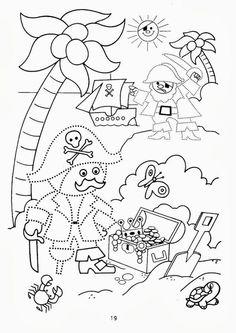 piratenmasker malen vorlagen piraten kindergarten piraten und piraten party. Black Bedroom Furniture Sets. Home Design Ideas