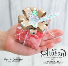 Hello friends! Welcome to Calgary, Alberta, Canada for this week's Stampin' Up! Artisan Design Team blog hop. You've likely come from th...