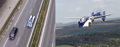 ALUCINANTE. El coche que vuela es una realidad y se pondrá a la venta en 2017