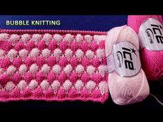 Knitting Stitch Patterns: Bubble Wrap