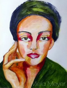 Artist Mela Meyer