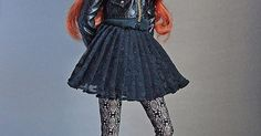 Style Mantra Eden   Jacket (Moschino for Barbie); headband (…   Flickr   Awesome Couture Fashion Doll Accessories!   Pinterest