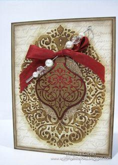 Vintage Style Christmas Card...