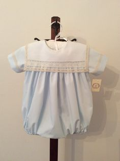 Style 57BB is Boy Bubble made by Mela Wilson Heirloom Children's Clothing