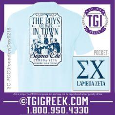 TGI Greek - Sigma Chi - Founder's Day - Greek T-shirt #tgigreek #sigmachi #foundersday