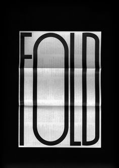 "the way they have the word ""fold"" on a folded piece of paper is well thought…"