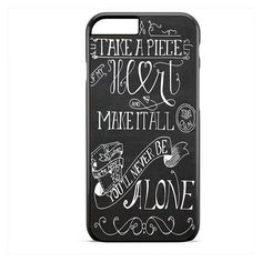 Shawn Mendes Quote Take A Piece Of My Heart TATUM-9528 Apple Phonecase... ❤ liked on Polyvore featuring accessories and tech accessories