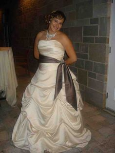 Cute Plus Size Champagne Bridesmaid Dresses Wedding and Bridal Inspiration