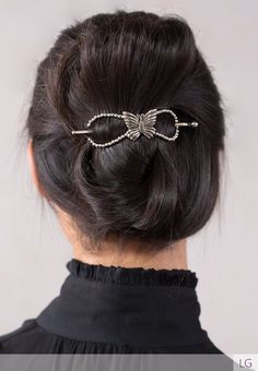 A lovely butterfly brings this Flexi a refreshing and fun look.    Download the  Stylist Marketing Pack  for this product.              Plating: Nickel