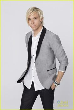 Riker Lynch -- just found out who he is and boy, he's a hunk.