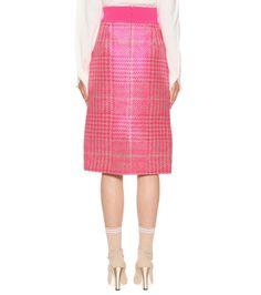 Fendi - Wool-blend skirt | mytheresa.com