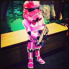 This wee little lady Stormtrooper. | The 25 Most Adorable Cosplayers At Comic-Con