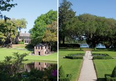 Middleton Place in Charleston, South Carolina - the oldest formally planned garden in the United States - victoriamag.com