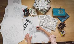 Colouring in can free your mind. Let's learn how to play again