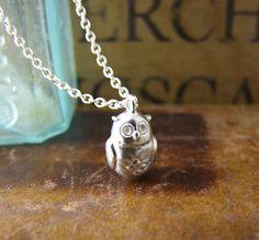 Little Owl Pendant