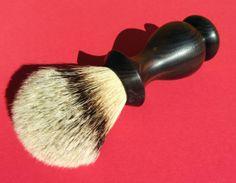 Shaving Brush Macassar Ebony 24mm Premium Grade by stonhausbespoke, on etsy