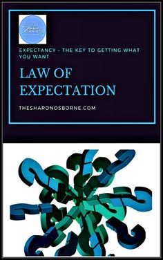 Plain and simply put we get what we expect! Expectation Leads To Manifestation. We are creators. The Law of Expectationis one of the most powerful laws in the universe. And it's always in motion.Whatever we expect, becomes our reality. TheLaw of Expectationstates thatwhatever you expect with confidence and certainly becomes […]/ #TheSharonOsborne