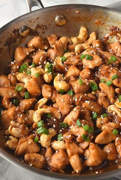 Sort out dinner/lunch with this amazing Cashew Chicken Stir Fry Recipe.Under 30 mins this recipe fixes your food just like from restaurants. Chicken Cashew Stir Fry, Sauce For Chicken, Chicken Recipes, Keto Chicken, Easy Cashew Chicken Recipe, Vegetarian Recipes, Cooking Recipes, Healthy Recipes, Healthy Food