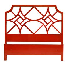 Chinese Chippendale Fretwork Headboard