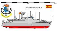 Perfiles navales.Cazaminas SEGURA M-31 1999