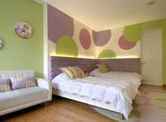 14 Best purple & Green bedrooms images | Purple green ...