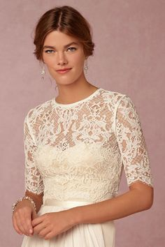 Dasha Topper from @BHLDN Maybe I should just get everything from BHLDN...