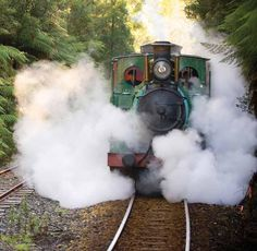 The Queenstown Arts Heritage Fest is on this weekend! Visit the only Abt Railway the West Coast Wilderness Railway while you're there! Plan a good 7 hour trip to get there!