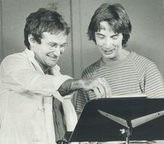 Robin Williams with Martin Short, 1980 CREDIT: DOUG GRIFFIN