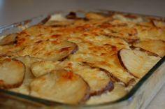 a simple real food recipe au gratin potatoes