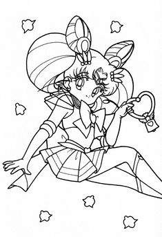 Cute Sailor Moon Coloring Pages