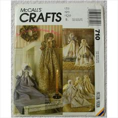 McCalls Crafts 710 American Heirloom Dolls Pattern UnCut on eBid United States /