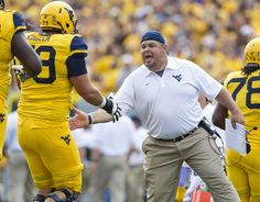 Does he stick with the dual-coach approach on the offensive line? Or does West Virginia add a full-time quarterbacks coach, something it has lacked for two years?