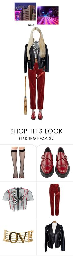 """""""BABY (아기) — 'Incredibly Strange Creatures' MV"""" by officialbaby ❤ liked on Polyvore featuring Music Legs, Yves Saint Laurent, Dilara Findikoglu, Alyx, Dolce&Gabbana, Alexander McQueen, Baby and ISCera"""