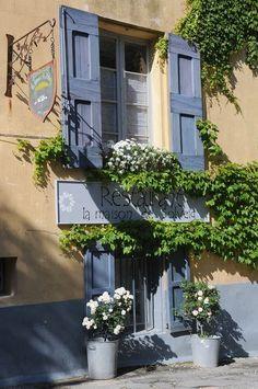 Restaurant in Saignon, Vaucluse