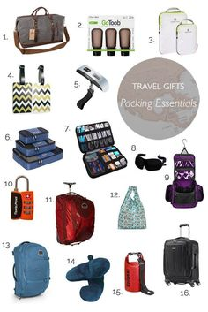 Christmas gift ideas for travel lovers | Gift, Travel gifts and ...