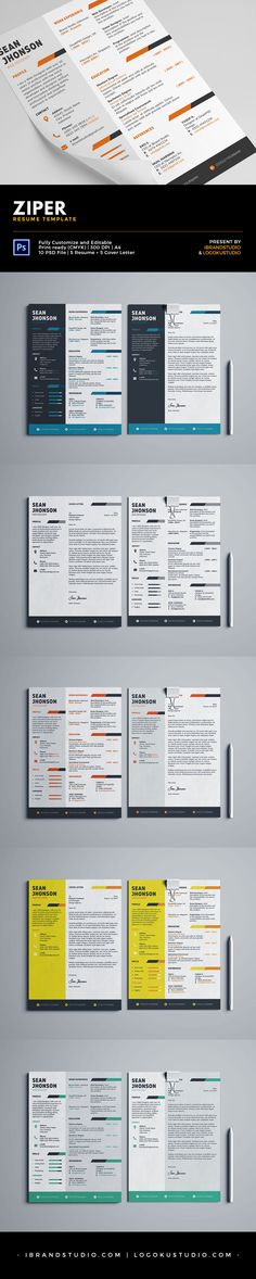 Cv  Resume Template Psd Word Docx Design Download Http