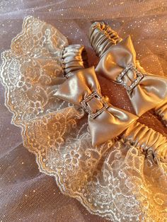 "The "" Zarita "" Gold Garter Set. The Metallics Collection. Free shipping worldwide. Wedding Garters of distinction. https://www.etsy.com/listing/200740555/the-zarita-gold-garter-set-metallics?ref=shop_home_active_11"