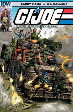 G.I. Joe: A Real American Hero #196 #IDW #GIJoe #ARealAmericanHero On Sale: 11/13/2013