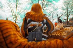"""Roberto Cavalli Celebrates Fall Accessories with """"Psychotic Love"""" 