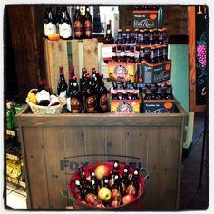 Fall Beer Display