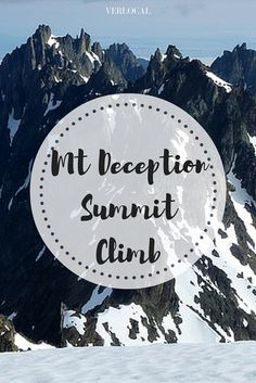 The Mt #Deception Summit Climb takes you up the second #highest peak in the Olympics nestled deep in the #alpine cirque of Royal Basin. Hidden from view, Mt Deception stands among the highest peaks in the Olympic Range offering an accessible climb within a weekend of adventure! #Seattle