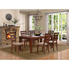 Oldsmar 7 Piece Dining Set | Wayfair