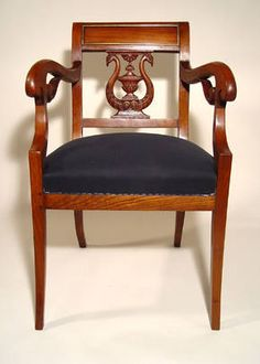 Baltic Biedermeier armchair