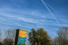 Graffiti&Blue sky - null Graffiti, Clouds, Sky, Watch, Dogs, Blue, Outdoor, Outdoors, Heaven