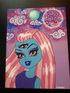 3 eyed ghoul fan art by Sara Seibel Monster High, Fan Art, Anime, Fanart, Anime Shows