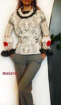 women crochet, handmade, women clothing,blouse