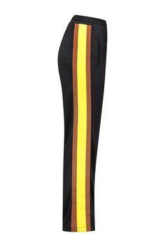 Ganni Track Pants Dubois Polo Black - T1891 3365 99 - NIEUW Bloom Fashion